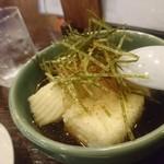 萬願亭 - 揚げ出し豆腐