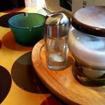 カフェ ガウディ - 料理写真:灰皿ありました。