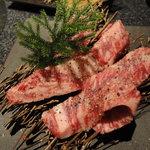 ダイニング マツイ - 網焼き(牛肉)