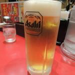 中華厨房 寿がきや - 生ビール