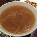 ブルーリリー 青百合飯荘  - ふかひれスープ