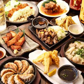 本場九州の味が勢揃い!本場の味を再現した逸品料理の数々!
