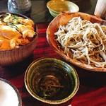 むらせ - 親子丼と蕎麦