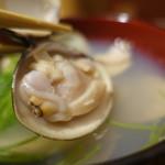 樽八 - 蛤の酒蒸しは鰹のお出汁で