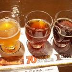 69534151 - マッチングセットのベアードビール スルガベイ インペリアルIPA、ストレンジブルーイング ファンキーJBインディアンブラウン、えぞ麦酒5ホップIPA