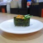かっぱ寿司 - \100では貴重な雲丹