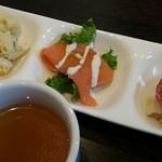 ビアー ダイニング パーム - 前菜とスープ