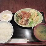 四国のげんさん - 生姜焼き定食