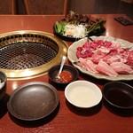 honkakuyakinikukangen - 冷麺が無いのでご飯を注文