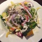 CHEESE×PARADISE - 季節の野菜サラダ。