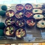 69543851 - 彩り野菜とサラミのキッシュ ¥420