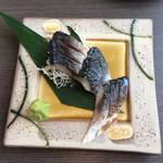 北海道知床漁場 - しめ鯖炙り