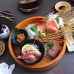 北海道知床漁場 - お造り5点以上盛り