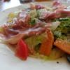 イタリア食堂&自然派ワイン colico - 料理写真:名物!地元野菜と生ハム・パルミジャーノチーズのパスタ