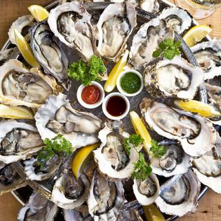 世界の絶品生牡蠣10種以上を堪能