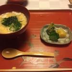 筑紫亭 - おかゆと漬物