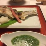 筑紫亭 - 鮎の塩焼き