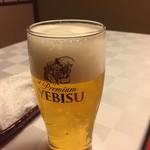筑紫亭 - ゑびすビール