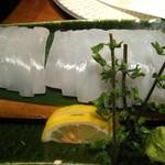 四十八漁場 - スルメイカの造り