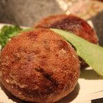 読谷物語 - 紫芋の揚げ物