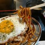 大阪お好み焼 英 - 麺リフト(17-07)