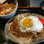 大阪お好み焼 英 - ランチ内容(17-07)