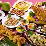 セイルフィッシュ カフェ - ディナーではハワイやタヒチなどのパンパシフィック料理を中心に約100種類