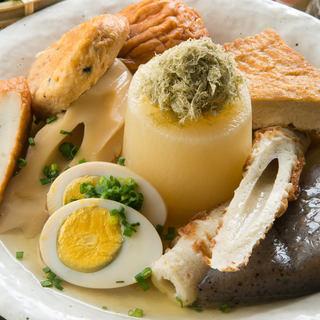 寿司だけでなく一品料理にも力を注いでます!