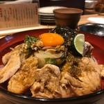 69553573 - 鶏ささみ丼980円(税込み)
