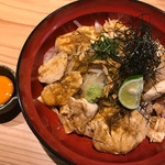 69553576 - 鶏ささみ丼980円(税込み)