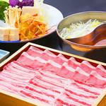 日本料理 彩 - 金武アグー豚しゃぶしゃぶ食べ尽くし