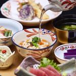 日本料理 彩 - うとぅいむちランチの豚飯(トンファン)