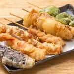 大衆とり屋 WAIGAYA本店 - わいがや名物串天ぷら♪こめ油100%で揚げたヘルシー天ぷらを串で気軽に楽しめる♪1串80円~。