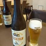 南あわじ美食農園オリザ - 瓶ビール!