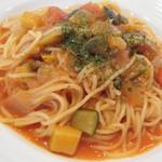 羅甸 - パスタランチ(カポナータ 夏野菜のトマトソース)ZOOM