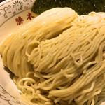 神田 勝本 - 特製清湯つけそば1,030円のそば