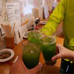 Momiji - 抹茶チューハイで乾杯