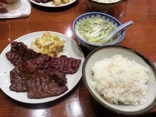 旨味太助 - 牛たん定食A 1500円