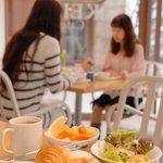 ケイズカフェ - モーニングは全席禁煙★