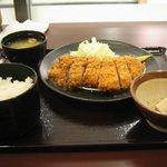明日香 - ロースカツ定食(150g)