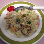 松崎ラーメン - Aセットのミニ焼飯。バリ旨!