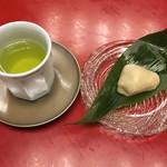 晴鴨楼 - 料理写真:お着きのお菓子