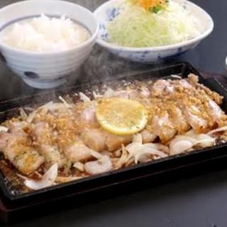 ☆彡夏の新メニュー☆彡レモンステーキ