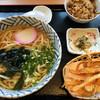能古うどん - 料理写真:かしわごぼうセット780円