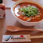 69561621 - エビと生クリームのトマト麺