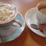 69561625 - ウインナーコーヒー&ホットコーヒー