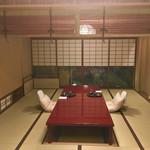 Nakamura - 掘りごたつの部屋に案内されました。