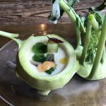69562823 - 初食!コールラビの冷製スープ