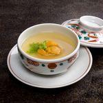 シェラトン都ホテル大阪 日本料理 うえまち - 雲丹茶碗蒸し