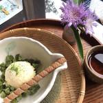 いち倫 - バニラアイス550円